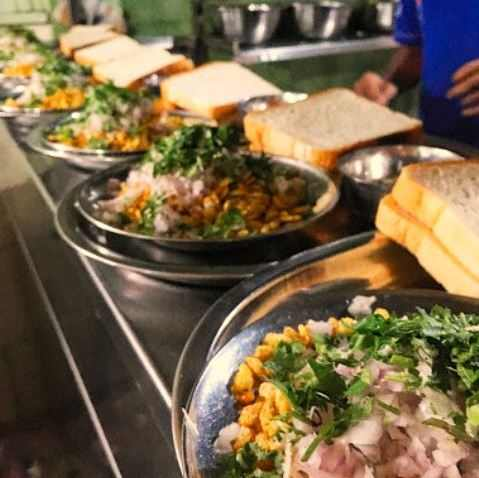 One of the most popular street food of Pune is Misal Pav.