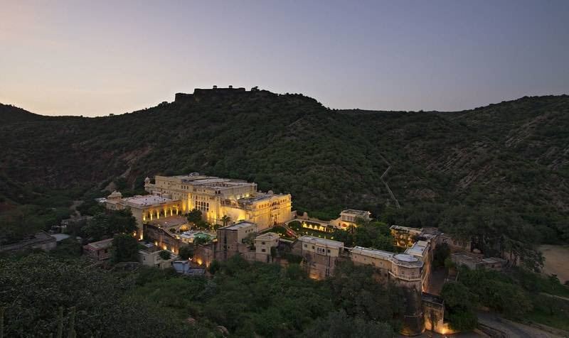 Samode Palace - heritage hotels in rajasthan