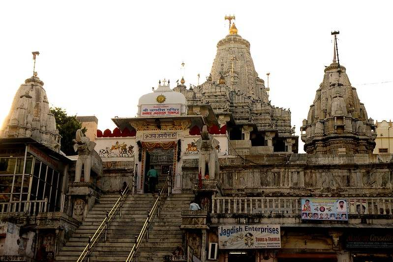 Jagdish temple - Places to visit in Udaipur