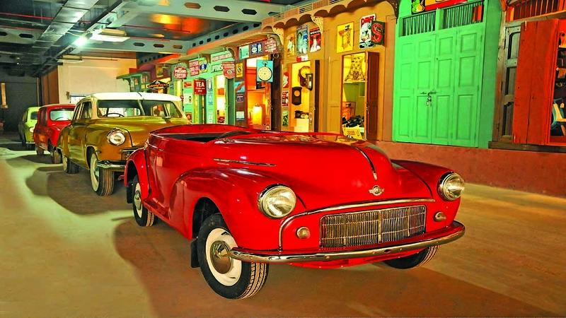 One of the places to visit in gurgaon with family is Heritage Transport Museum